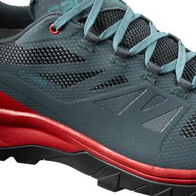 Salomon OUTline GTX Shoes Men Reflecting Pond/High Risk Red/Deep Lake